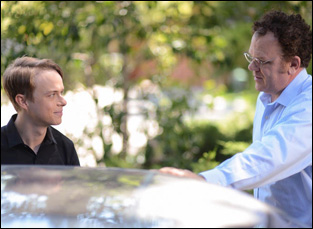 "John C. Reilly and Dane DeHaan in ""Life After Beth"""