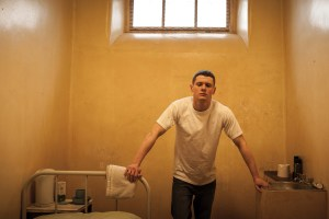 "Jack O'Connell in ""Starred Up"""