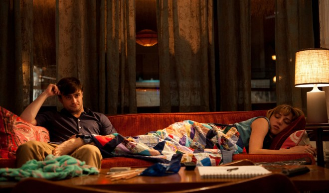 "Daniel Radcliffe and Zoe Kazan in ""What If"""
