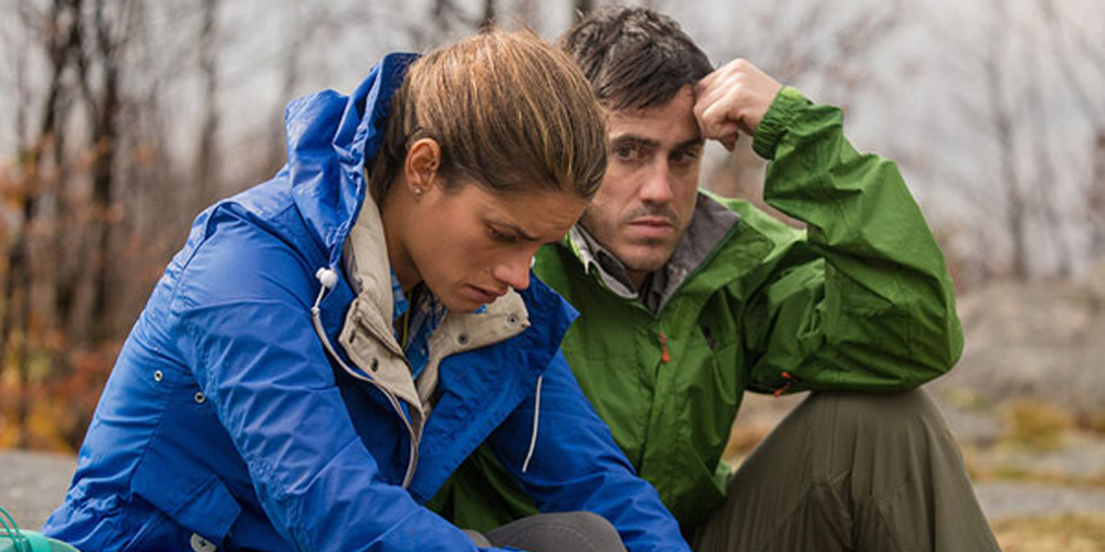 """Missy Peregrym and Jeff Roop in """"Backcountry"""""""