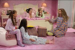 "John Malkovich, Casey Wilson, Kristen Wiig, Abby Elliott in ""Saturday Night"""