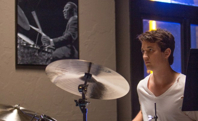 "Miles Teller in ""Whiplash"""