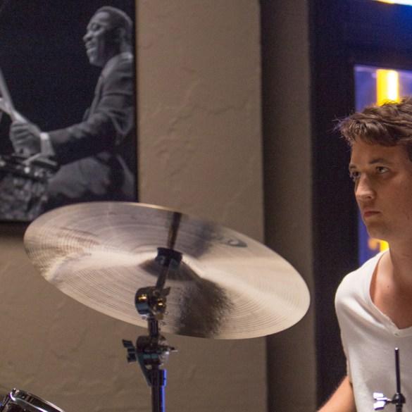 """Miles Teller in """"Whiplash"""""""