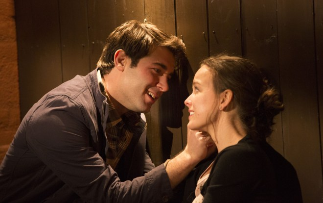"James Wolk and Allison Miller in ""Always Woodstock"""