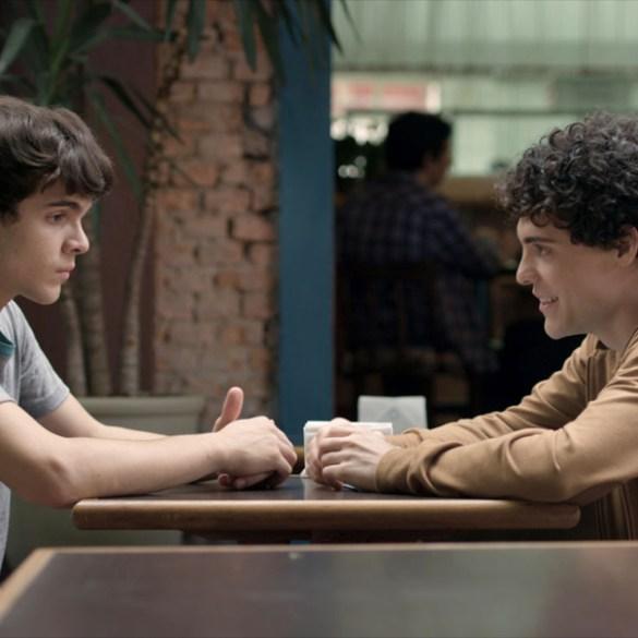 "Ghilherme Lobo and Fabio Audi in ""The Way He Looks"""