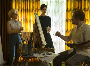 "Amy Adams, Krysten Ritter and Christoph Waltz in ""Big Eyes"""