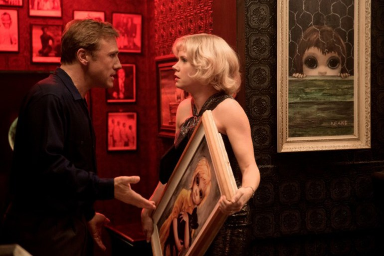 "Christoph Waltz and Amy Adams in ""Big Eyes"""