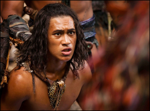 "James Rolleston in ""The Dead Lands"""