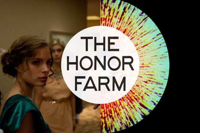 "Olivia Applegate and Katie Folger in ""The Honor Farm"""