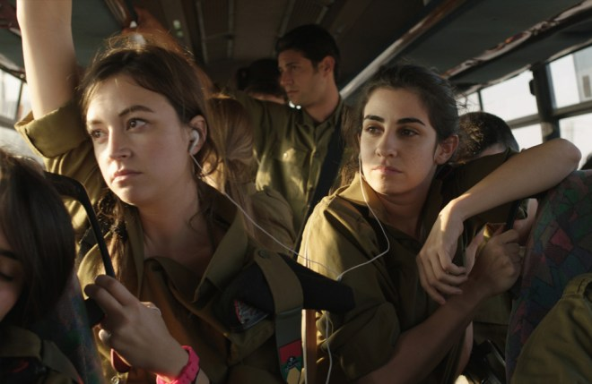 Nelly Tagar as Daffi (left) and Dana Ivgy as Zohar in ZERO MOTIVATION.