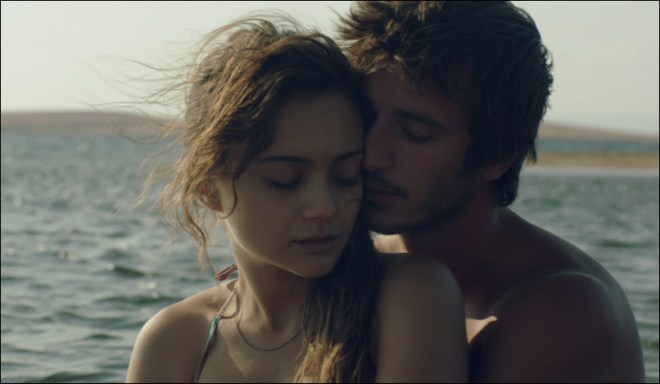 "Ahmet Rifat Sungar and Damla Sönmez in ""Across the Sea"""