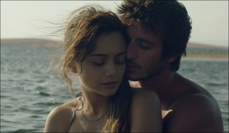 "Ahmet Rifat Sungar and Damla Sönmez in ""Across the Sea"""
