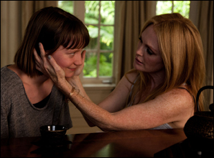 "Julianne Moore and Mia Wasikowska in ""Maps to the Stars"""
