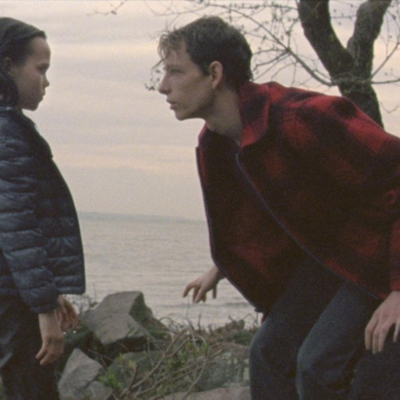 """Trevor St. John and Oona Laurence in """"The Grief of Others"""""""