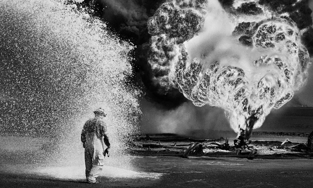 "Sebastiao Salgado's photo in ""Salt of the Earth"""