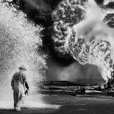"Sebastiao Salgado's photo in ""Salt of the Earth"""