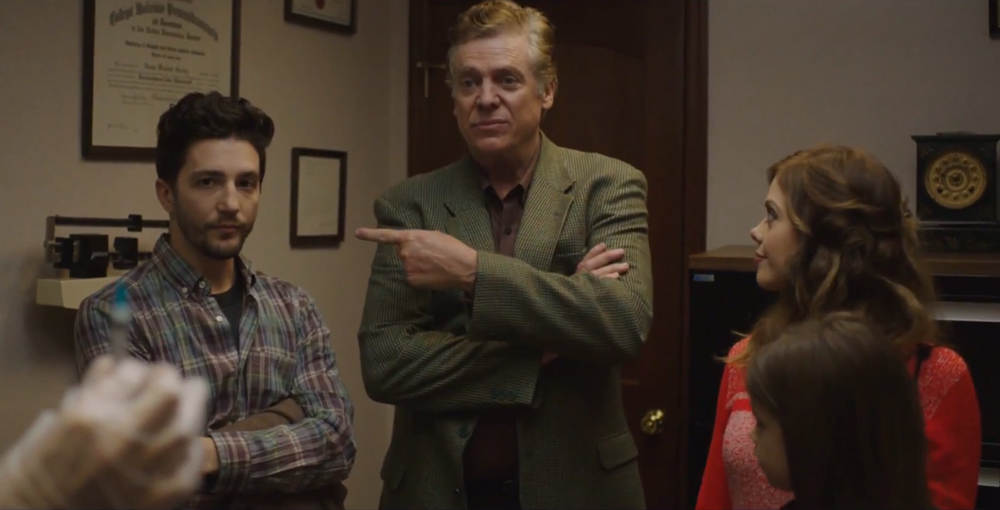 """John Magaro, Christopher McDonald and Dreama Walker in """"Don't Worry Baby"""""""