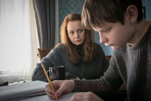 "Samantha Morton and Charlie Tahan in ""The Harvest"""