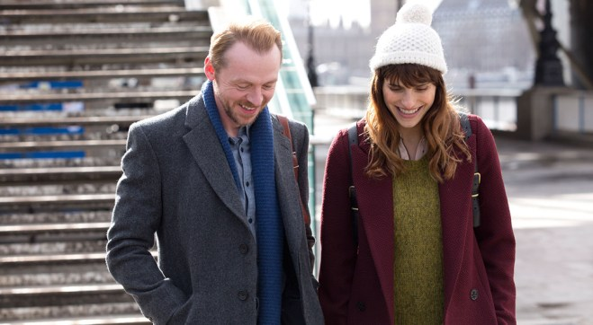 "Simon Pegg and Lake Bell in ""Man Up"""