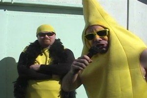 "Eric Keyes and Paul Richards in ""Bodyslam: Revenge of the Banana"""