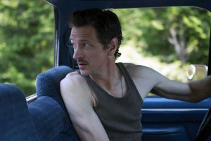 "John Hawkes in ""The Driftless Area"""