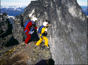 "Carl and Jean Boenish in ""Sunshine Superman"""