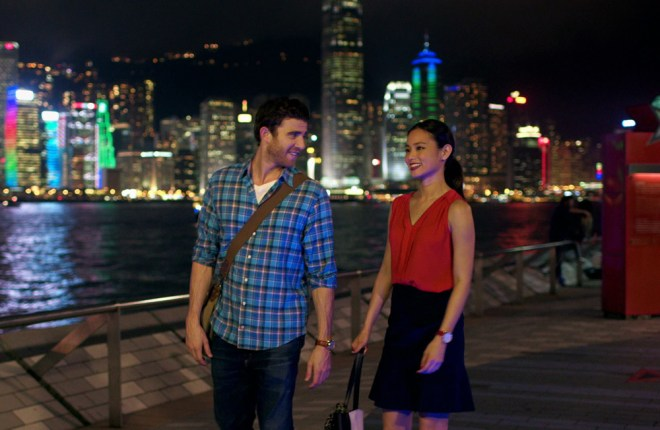 "Jamie Chung and Bryan Greenberg in ""It's Always Tomorrow in Hong Kong"""