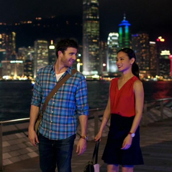 "Jamie Chung and Bryan Greenberg in ""It's Always Tomorrow in Hong Kong"""