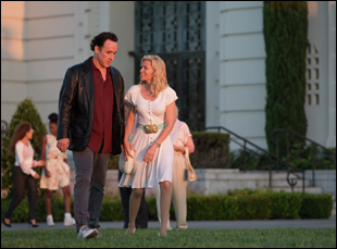 "John Cusack and Elizabeth Banks in ""Love & Mercy"""