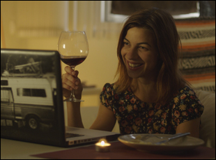 "Natalia Tena in ""10,000 KM (Long Distance"""