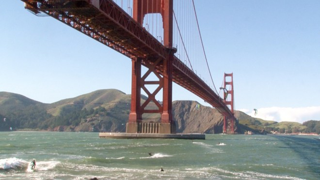 "The Golden Gate Bridge in ""San Francisco 2.0"""