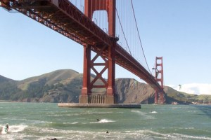 "The Golden Gate Bridge in ""San Francisco 2.0"""