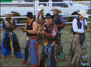 "A scene from Bill and Turner Ross' ""Western"""
