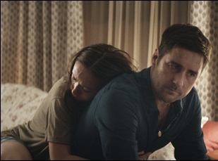 "Olivia Wilde and Luke Wilson in ""Meadowland"""