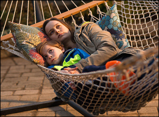 "Brie Larson and Jacob Tremblay in ""Room"""