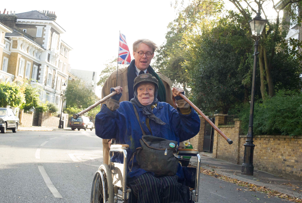 """Alex Jennings and Maggie Smith in """"The Lady in the Van"""""""