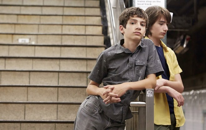 "Theo Taplitz and Michael Barbieri in ""Little Men"""