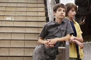 "Theo Taplitz and Michael Barbieri in ""Little Men"""