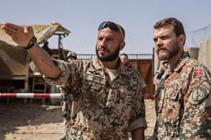"""Dar Salim and Pilou Asbaek in Tobias Lindholm's """"A War"""""""