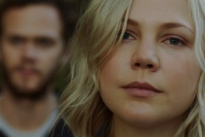 "Adelaide Clemens and Joseph Cross in ""The Automatic Hate"""