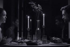 """Ben Dickinson and Nora Zehetner in """"Creative Control"""""""