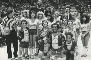 The Hollywood Shorties basketball team
