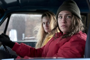 "Breeda Wool and Lola Kirke in ""AWOL"""
