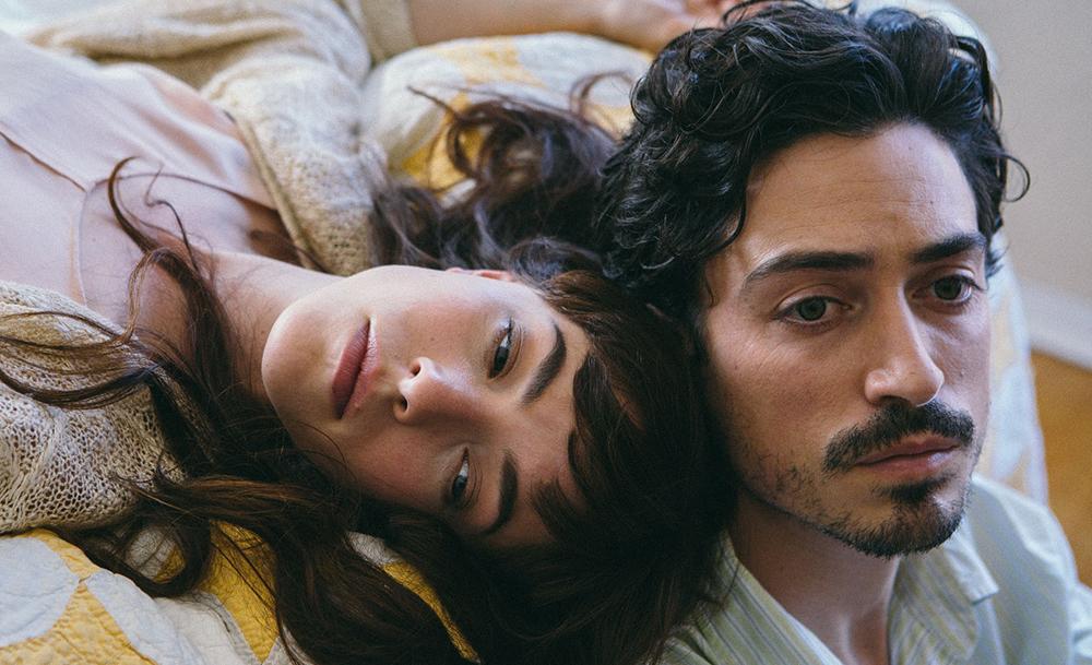 """Olivia Thirlby and Ben Feldman in """"Between Us"""""""
