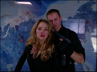 "Haley Bennett in ""Hardcore Henry"""