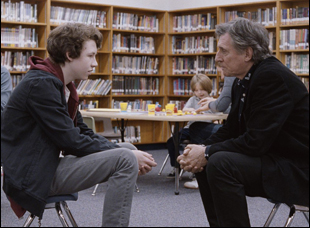 "Devin Druid and Gabriel Byrne in ""Louder Than Bombs"""