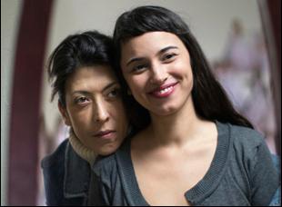 "Asi Levy and Moran Rosenblatt in ""Wedding Doll"""