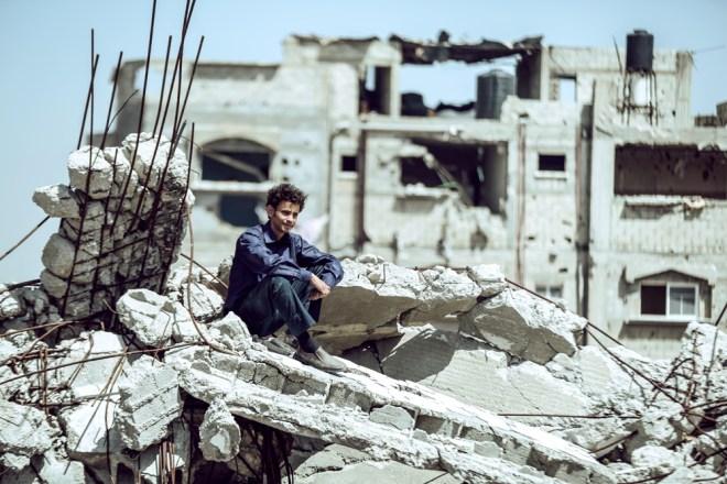 "A scene from Hany Abu Assad's ""The Idol"""