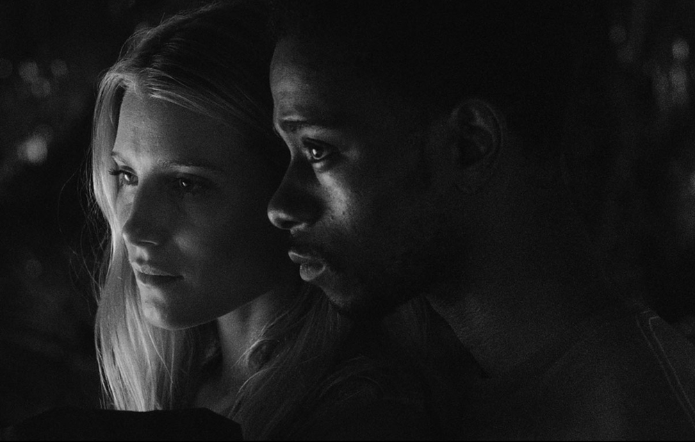"""Dree Hemingway and Keith Stanfield in """"Live Cargo"""""""