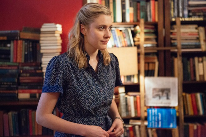 "Greta Gerwig in ""Maggie's Plan"""